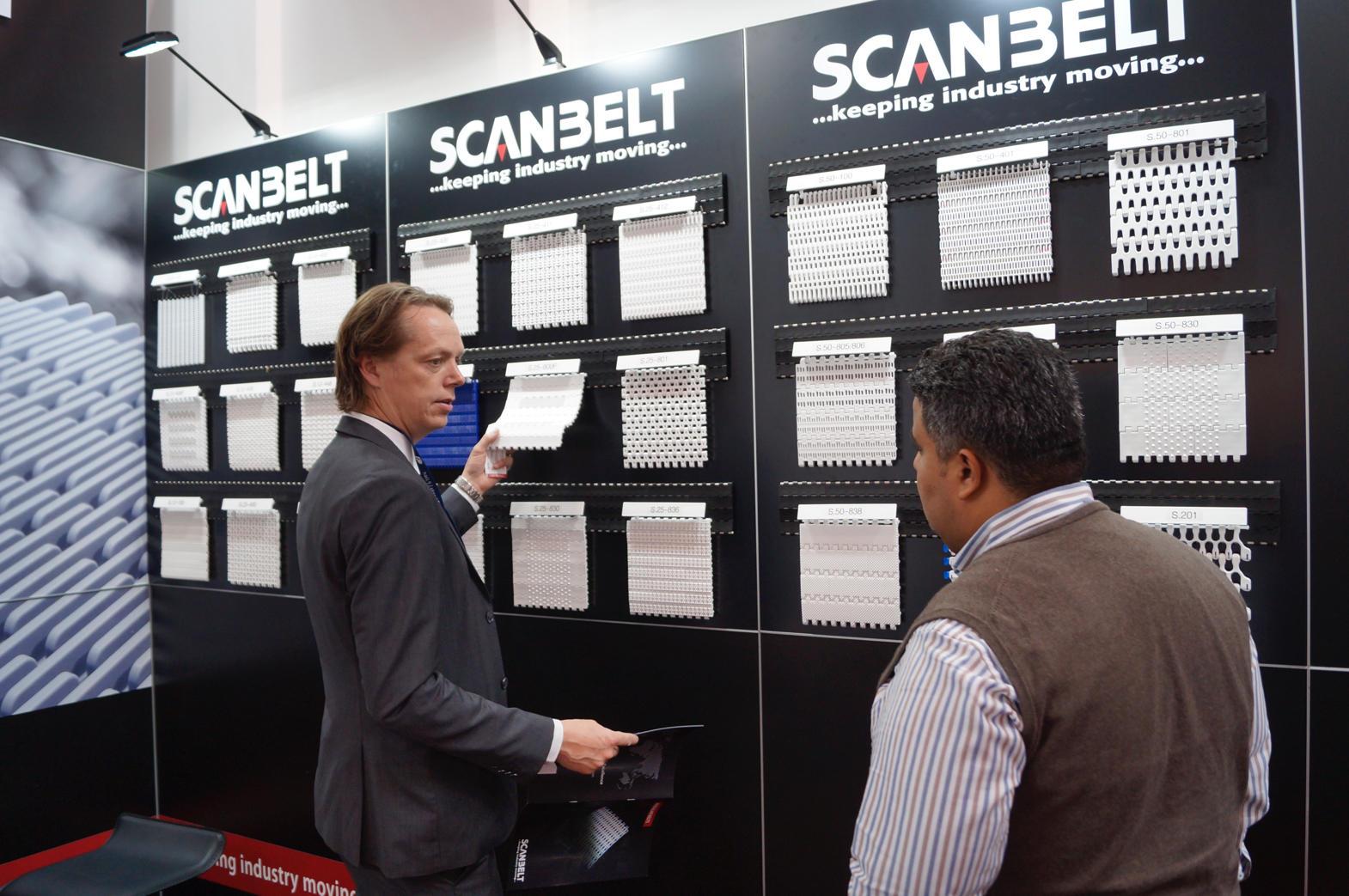 CleverFrame messestand til Scanbelt leveret af Provendi