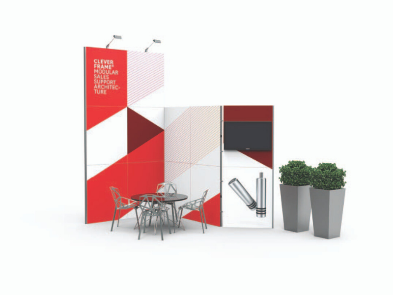 Provendi Clever Frame messestand